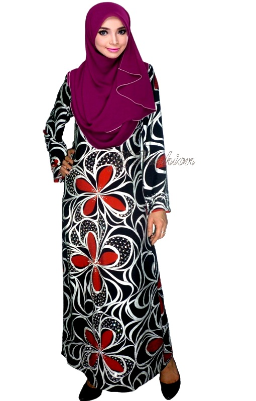 28. JJ Fashion Baju Jubah Manik Korea Cotton  37.00