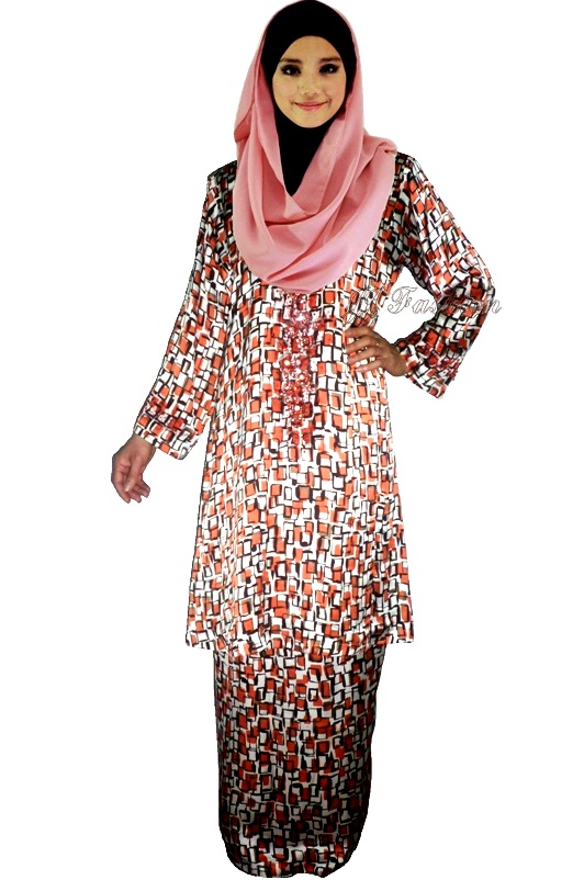 30. JJ Fashion Baju Kurung Manik Blended Silk  37.00
