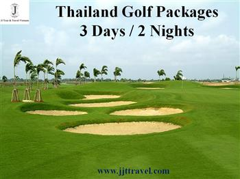 Thailand Golf Tour (3 days / 2 nights)